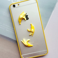 3D Banana Case Cover for iPhone 5s 6 6s Plus Lover Gift 243