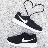 """NIKE"" Fashion Women Running Sport Casual Shoes Sneakers mesh Black F"