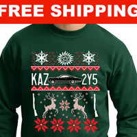 Supernatural Ugly Sweater