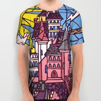 The Enchanted Castle All Over Print Shirt by Studiomarshallarts