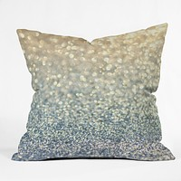 Lisa Argyropoulos Snowfall Throw Pillow