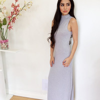 Around The World Maxi- Grey
