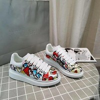 Alexander Mcqueen Graffiti Oversized Sneakers Reference #7