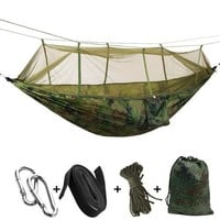 Portable Mosquito Net Hammock Tent With Adjustable Straps