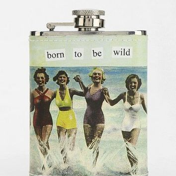 Taintor Vintage Graphic Flask