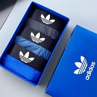 ADIDAS Men Briefs Comfortable Breathable Ice-Silk Male Underpants 3 Piece Set