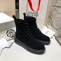 AlexanderMcQUEEN  Woman's Men's 2020 New Fashion Casual Shoes Sneaker Sport Running Shoes