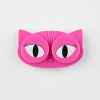 Cat Eyes Contact Lens Case Pink One Size For Women 26626435001