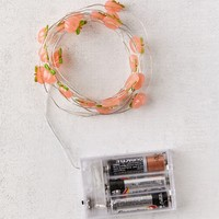 Peach Battery Powered String Lights | Urban Outfitters
