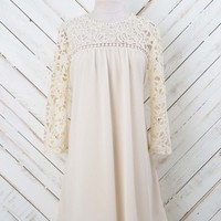 Classy Baby Doll Lace Dress | Altar'd State