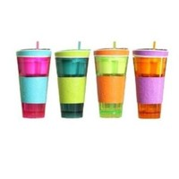 Snackeez Cup-| the All-in-one, Go Anywhere Snacking Solution! As Seen on Tv Assorted (1 CUP ONLY):Amazon:Home & Kitchen
