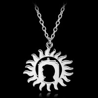 2017 Sherlock Doctor Who Supernatural Charm Necklace Silver Chain Choker Necklace & Pendants for Men Women Party Accessories