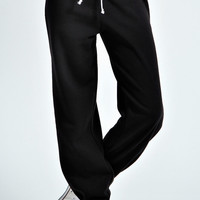 Kadie Fleece Lined Jersey Joggers