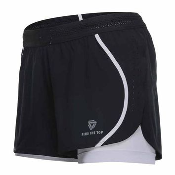 Women's Double Layer Stretch Shorts