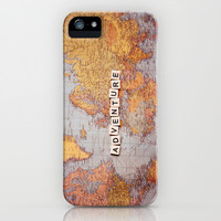 adventure map iPhone & iPod Case by Sylvia Cook Photography