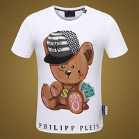 2018 Men Cheap Philipp Plein T Shirt hot sale ♂053