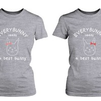 Best Bunny Friendship Best Friend Shirts - 365 Printing Inc