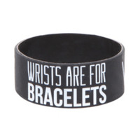 Sleeping With Sirens Wrists Rubber Bracelet
