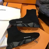 shosouvenir :Balenciaga Woman Men Boots Fashion Breathable Sneakers Running Shoes