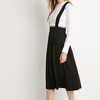 Pleated Overall Skirt