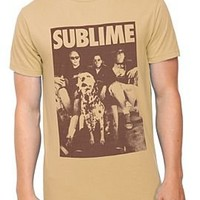 Sublime Band Photo Slim-Fit T-Shirt - 916491