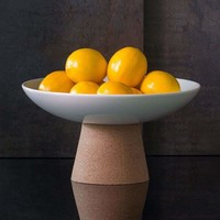 LAGOON HIGH PEDESTAL SERVING BOWL