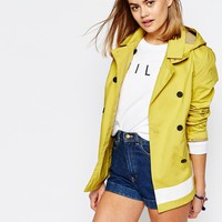 Jack Wills Bonded Peacoat