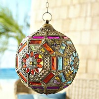 Gypsy Gem Fortune Ball Hanging Lantern