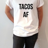 Tacos AF - Unisex T-shirt for Women - shpfy