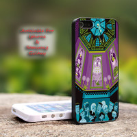 Disney The Haunted Mansion Stretching Paint - iPhone 4 4S iPhone 5 5S 5C.