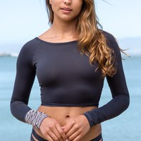 Billabong - Wave Dancer Rashguard | Off Black