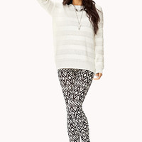 Fireside Mixed Knit Sweater   FOREVER 21 - 2000050482