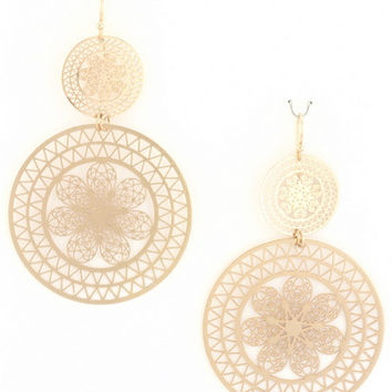 Shoreline Earrings in Gold
