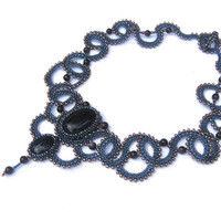 Draco - Necklace - seed bead jewelry