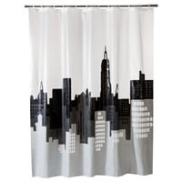 Room Essentials® Shower Curtain City Scape - 72x70""