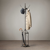 Vintage Factory Coat Stand