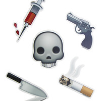 AESTHETICS BIG ASS EMOJI STICKER PACK