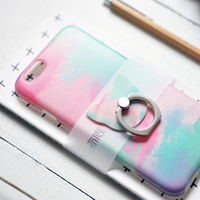 Space Pattern Clear iPhone Cases Silicone Phonecases iPhone 6 6S Plus 7 7 Plus [11208626255]