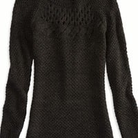 AEO Women's Cable Detail Sweater