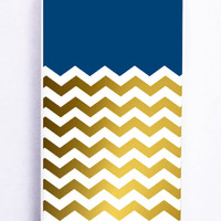 Chevron Gold for Iphone 5 / 5s Hard Cover Plastic