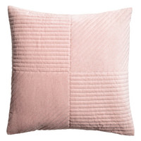 H&M Quilted Velvet Cushion Cover $17.99