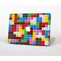 """The Neon Colored Building Blocks Skin Set for the Apple MacBook Pro 13""""   (A1278)"""