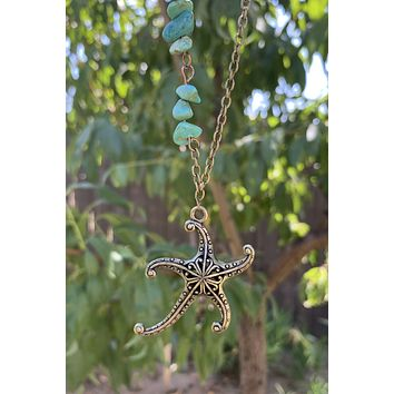 Starfish Necklace #I1218
