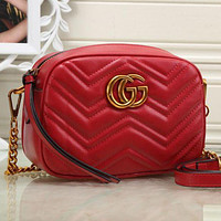 Gucci Classic Fashion Chain Bag Ladies Small Shoulder Bag Messenger Bag Multicolor Optional