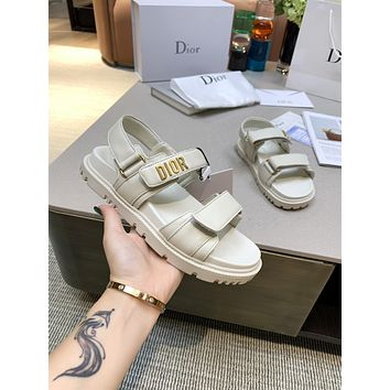 Dior Women's Casual Running Sport Shoes Sneakers Slipper Sandals High Heels Shoes 06063