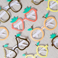 Fruit Paper Glasses
