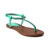 Womens Shi by Journeys Seabreeze Sandal in Mint   Shi by Journeys