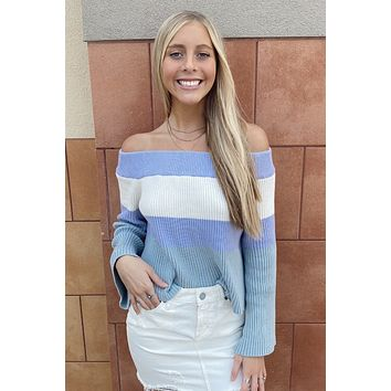 Sweater Weather Top- Lavender