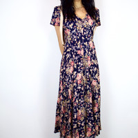 Garden Warrior Vintage Dress