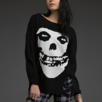 Destructed Misfits Sweater